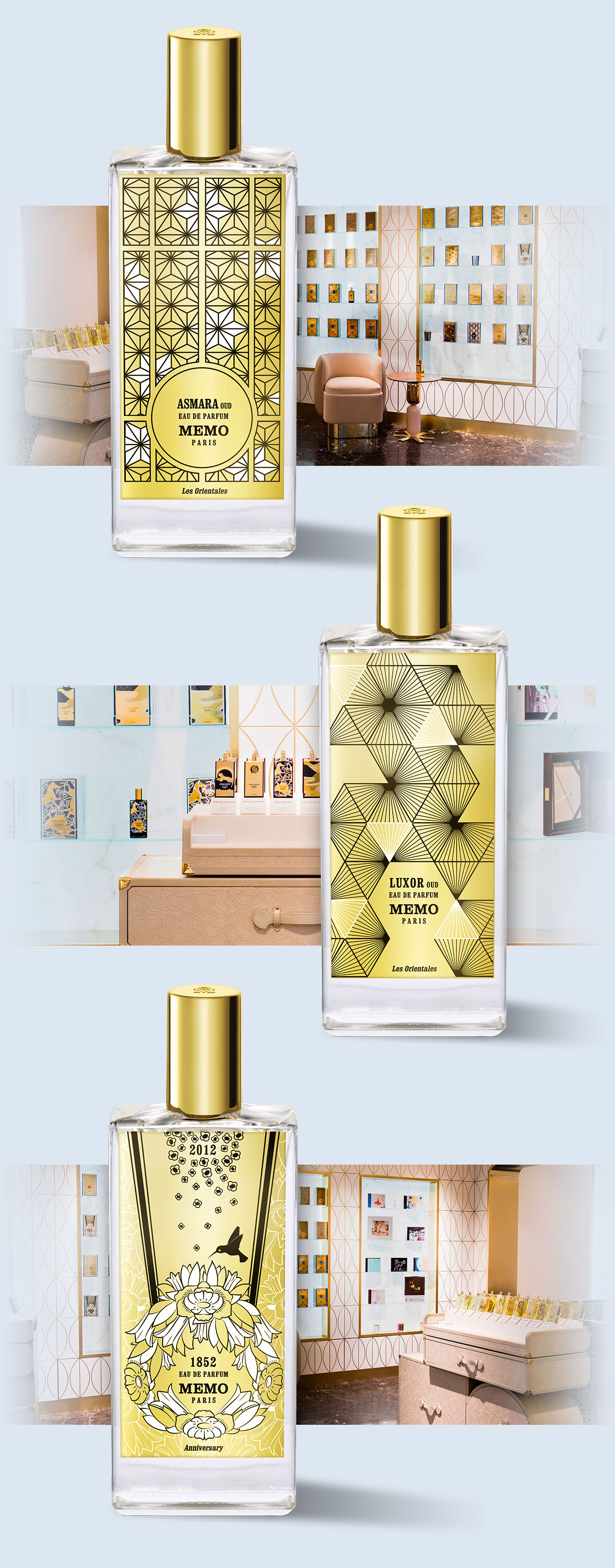 Memo fragrance by DamienC.fr