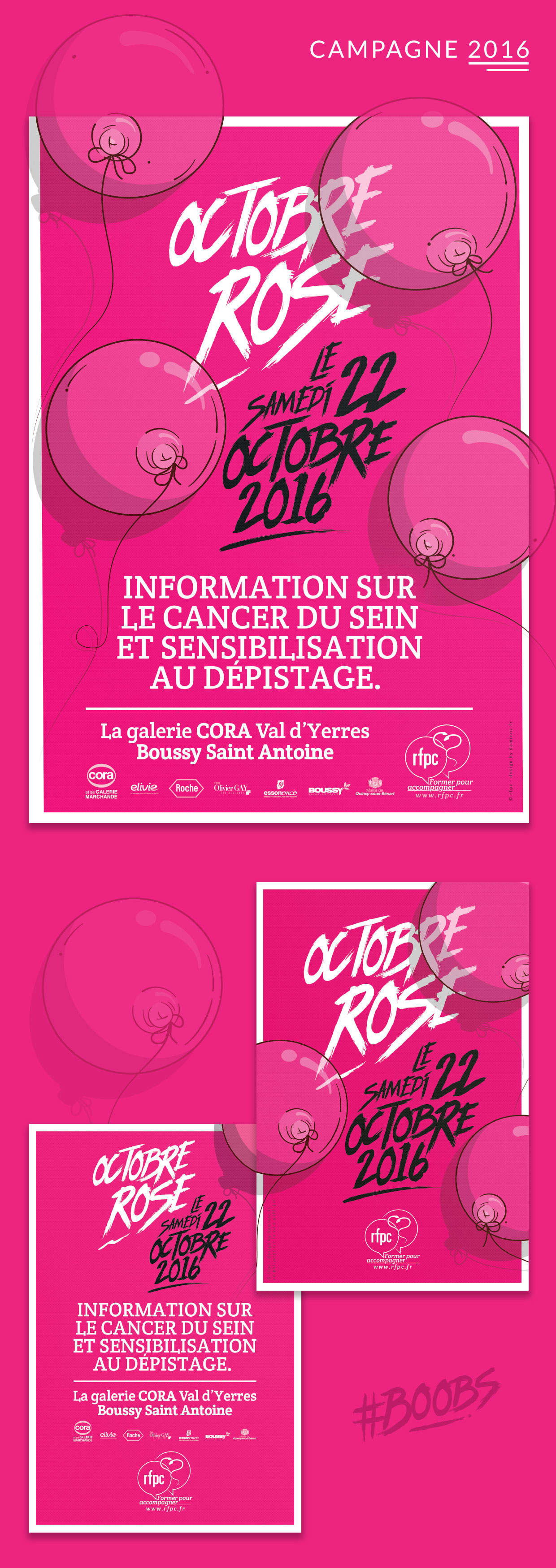 Octobre rose 2016 by DamienC.fr