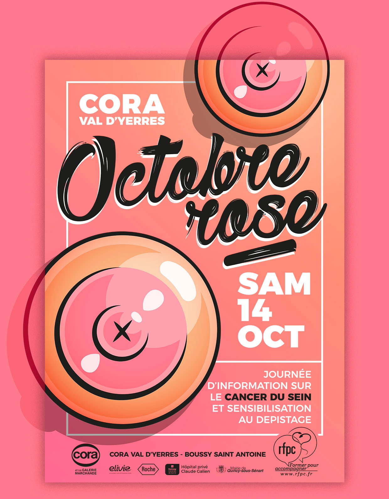 Octobre Rose 2017 by DamienC.fr
